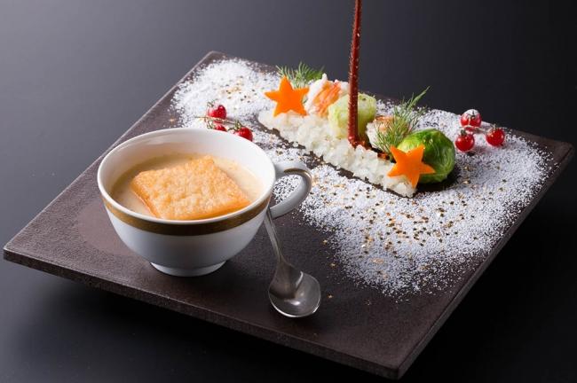 日本料理「あづま」クリスマス会席