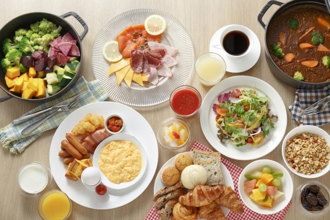 写真ー朝食ブッフェイメージ(洋食)