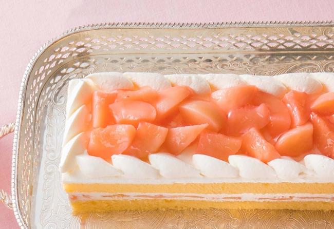 ※桃のショートケーキ イメージ