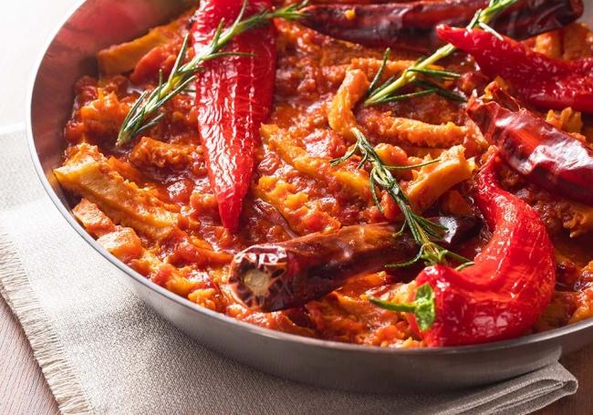 ※トリッパのトマト煮込み イメージ