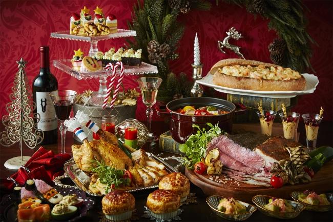 ブッフェダイニング「アーカラ」のクリスマスディナー