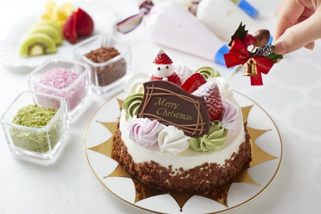 セルフデコ・クリスマスケーキ