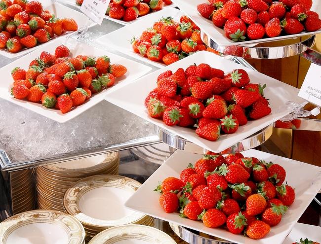 フレッシュいちごの食べ 比べコーナー イメージ