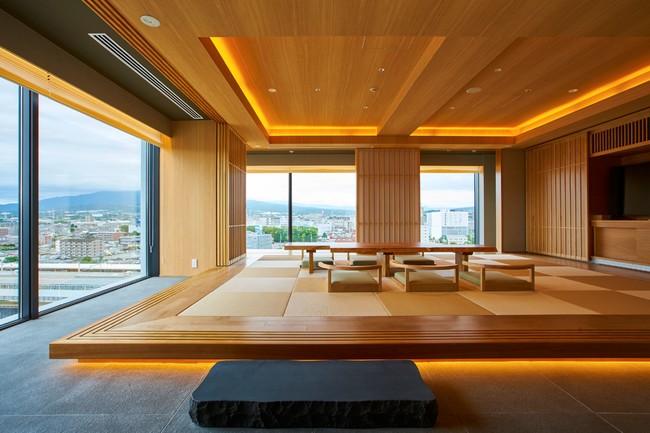 富士山三島東急ホテル ファミリーコーナー畳ルーム
