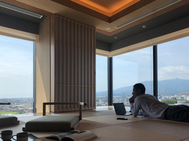 富士山三島東急ホテル「畳でゴロゴロワーケーションプラン」イメージ