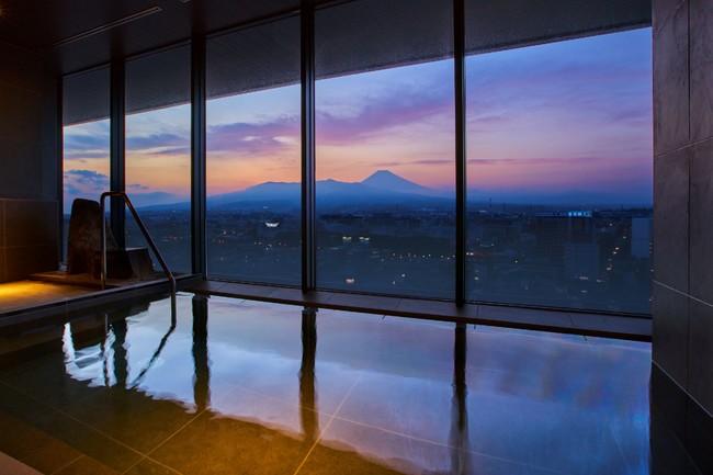 富士山三島東急ホテル 露天風呂付展望温浴施設「富士の湯」