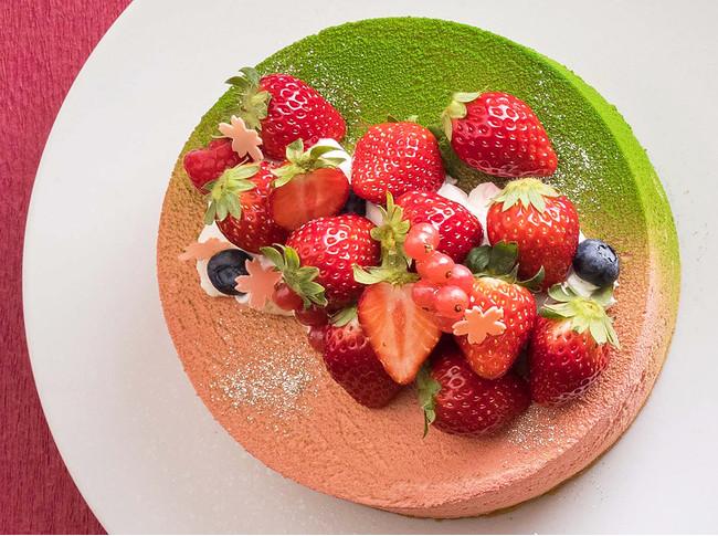 「桜ケーキ」イメージ