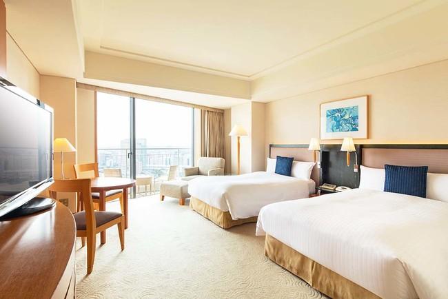 「横浜ベイホテル東急」エグゼクティブ ツイン パークビュー