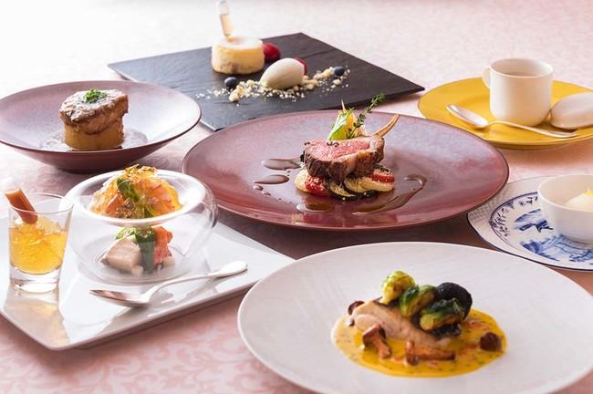 「横浜ベイホテル東急」フランス料理「クイーン・アリス」ディナーコース イメージ