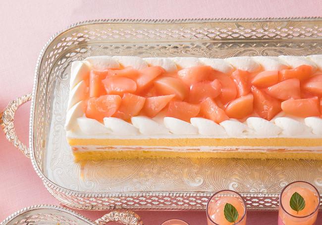 「ペーシュショートケーキ」イメージ