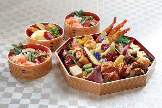 シェフ特製BOXの例(松江エクセルホテル東急)