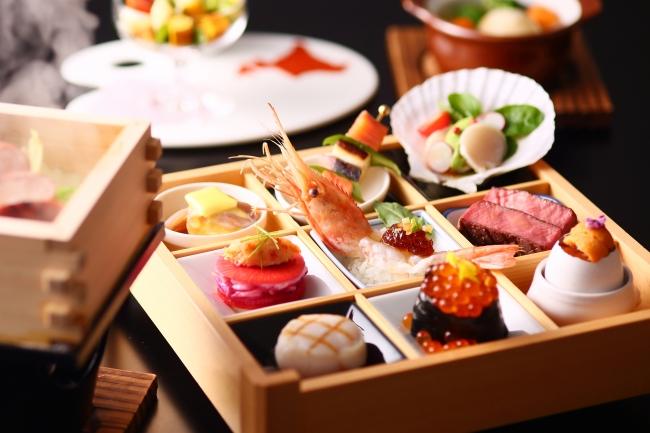 神戸三宮東急REIホテル/北海道9つの彩り宝石御膳