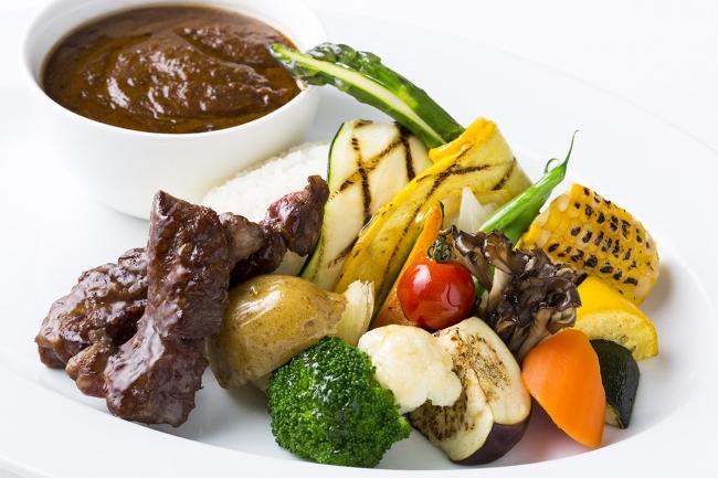 鹿児島東急REIホテル/北海道産 土幌黒牛と北海道野菜のスープカレー
