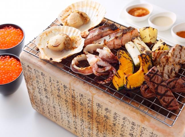 新大阪江坂東急REIホテル/北海道産お肉と魚介の炙り焼き&イクラぶっかけ丼