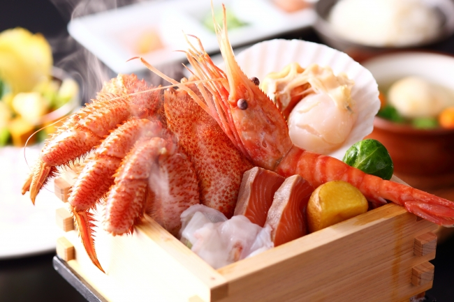 【A】北海道産海鮮のせいろ蒸しセット:お1人さま 3,800円