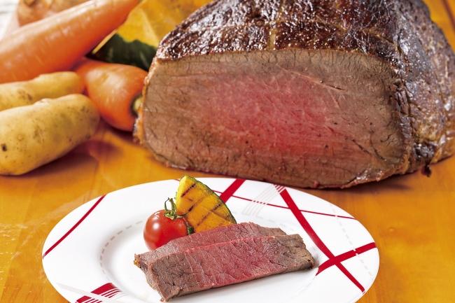 北海道産牛もも肉のロースト