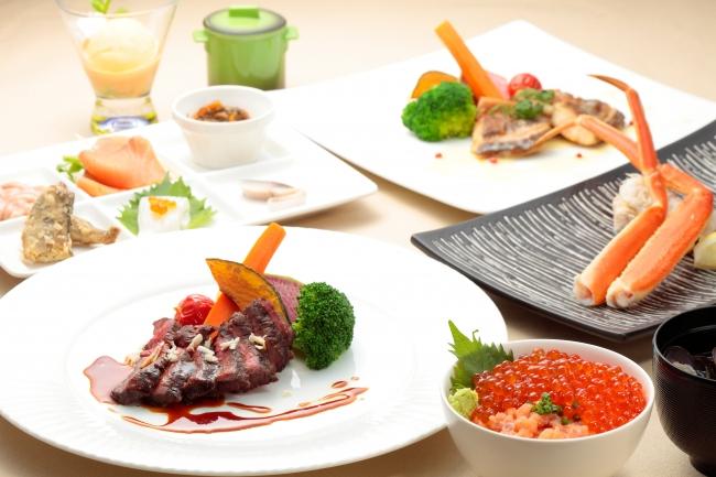 【ディナー】北海洋食ディナー:お1人さま 5,500円
