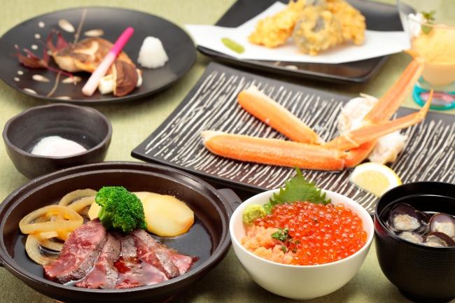 【ディナー】北海和食ディナー:お1人さま 5,500円