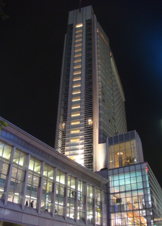 渋谷エクセルホテル東急外観