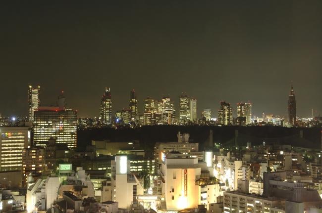 旬彩から見える夜景