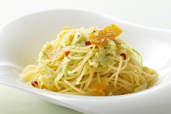 写真ー長崎県産からすみとキャベツのスパゲッティ