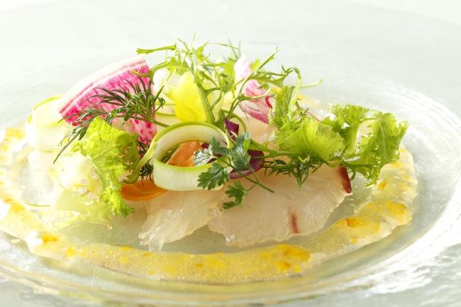 写真ー長崎県産鮮魚のカルパッチョ