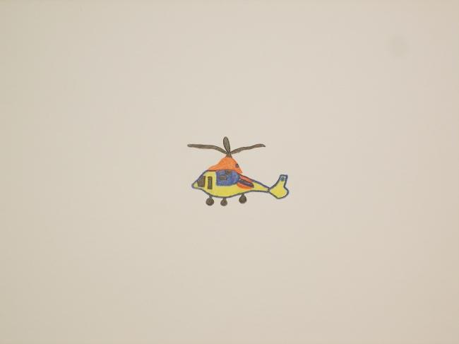 佐々木華枝 《ヘリコプター》