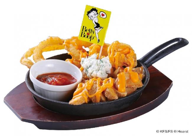 Betty Boop(TM)「サワーチーズポテト」590円(税別)