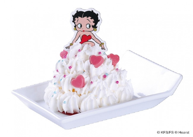 Betty Boop(TM)「ドレスアイス」390円(税別)