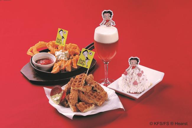 Betty Boop(TM)コラボ商品