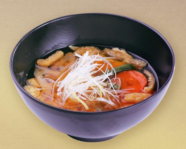 半日分の野菜味噌汁