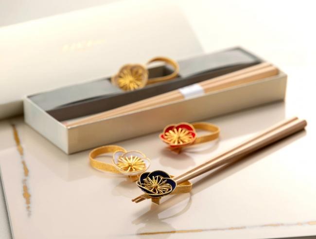 八角箸と箸置きセット