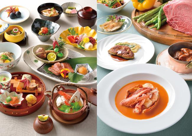 日本料理 さざんか(開業記念会席)                    開業記念ディナーコース(鉄板焼 木場)