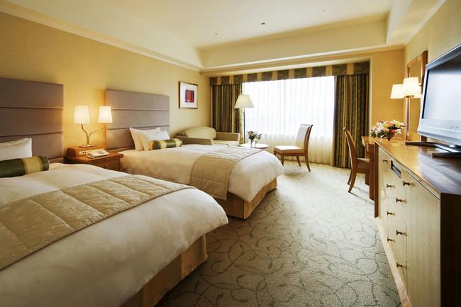 京都ホテルオークラ ツインルーム一例