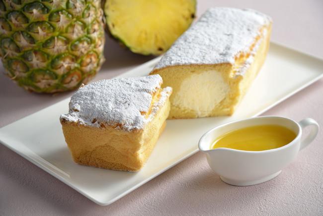 生パウンドケーキ「パイナップル台湾カステラ」自家製パイナップルソース付き