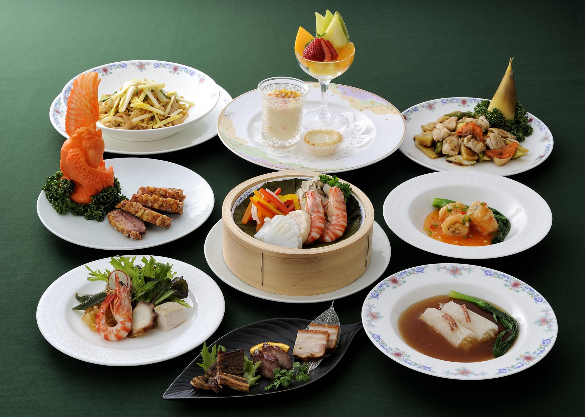 ディナー|中国料理 桃花林| 東京のレストランな …