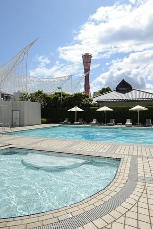 【ホテルオークラ神戸】涼を求めてホテルのプールへ!7月13日 ...
