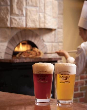 博多ドラフトとピザ窯