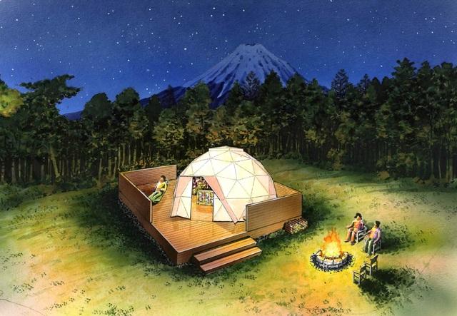アメージングドーム・テラスグリル