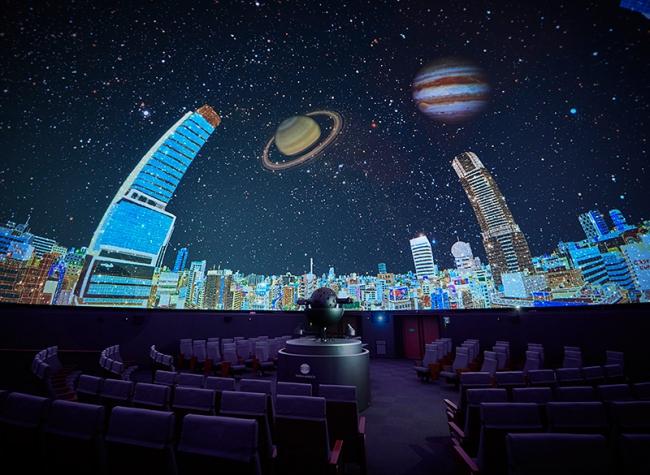 コスモプラネタリウム渋谷「渋谷で星と音楽と」
