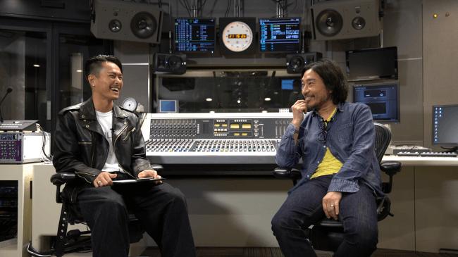 今市隆二(三代目 J Soul Brothers from EXILE TRIBE)と トータス松本(ウルフルズ)のトークセッション映像公開