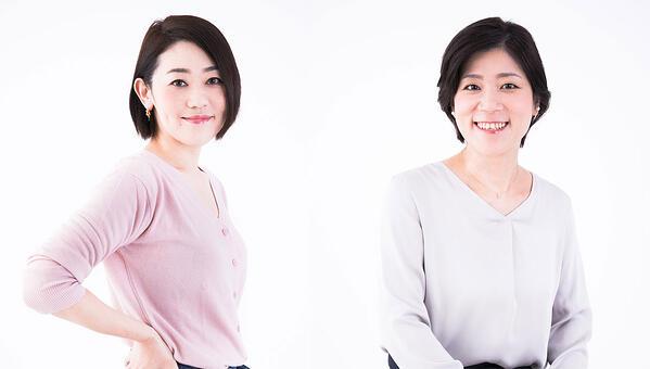 株式会社アイスタイル  @cosmeリサーチプランナー (左)西原 羽衣子 (右)原田 彩子