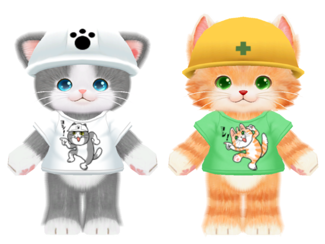 仕事猫 コラボ衣装/くまみね氏書き下ろし コラボ衣装