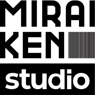 「MIRAIKEN studio」ロゴ