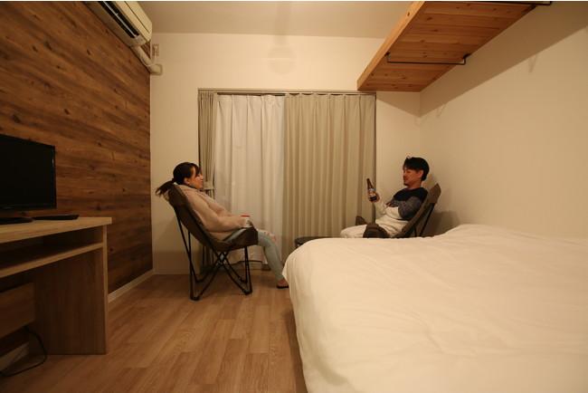 【個室】ダブルベット