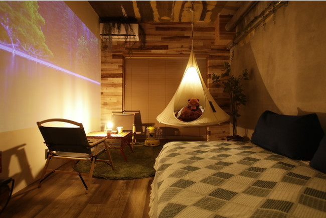 CAMP DOUBLE ROOM