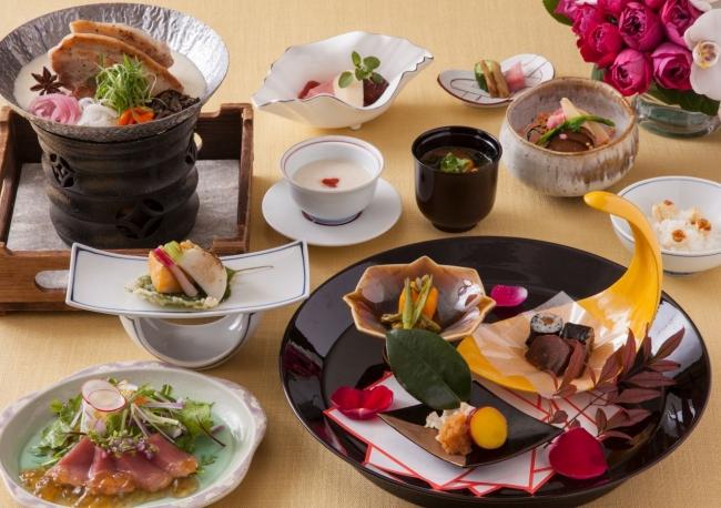 日本料理「みゆき」の冬の薬膳ランチコース ※イメージ