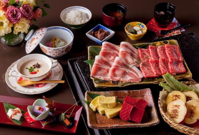 石焼料理「木春堂」の冬の薬膳ランチコース ※イメージ