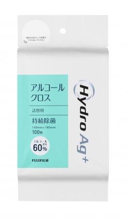 富士フイルム Hydro Ag⁺|アルコールクロス(100枚入)