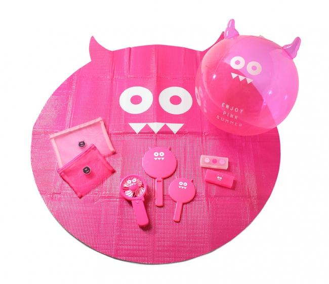 『ピンモン』のキャラクターをモチーフにした商品一例